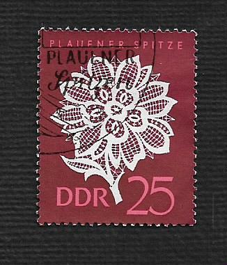 German DDR Used Scott #839 Catalog Value $.25