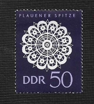 German DDR Hinged Scott #840 Catalog Value $1.85