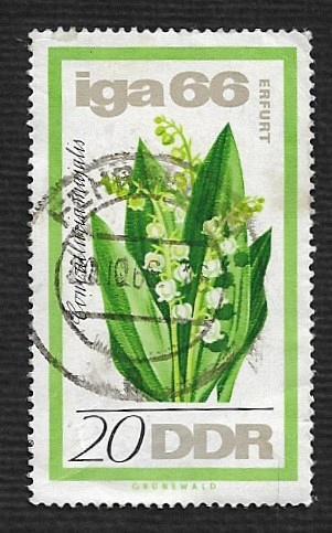 German DDR Used Scott #841 Catalog Value $.25