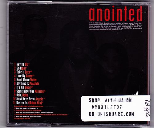 Anointed by Anointed CD 1999 - Very Good