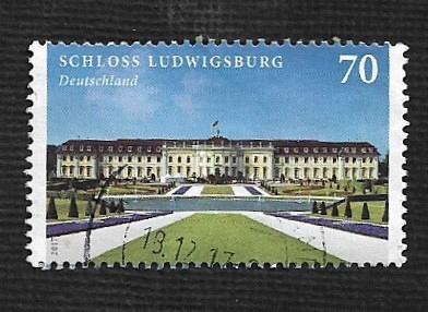German Used Scott #2953 Catalog Value $1.50