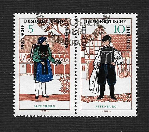 Germany DDR Used Scott #860a Catalog Value $.75