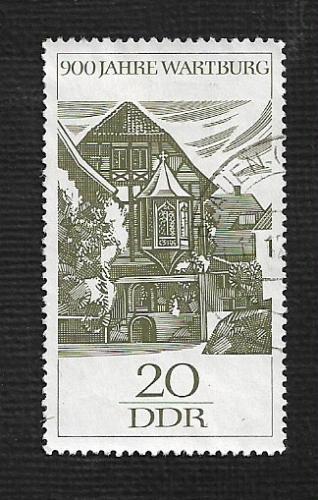 Germany DDR Used Scott #877 Catalog Value $.25