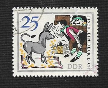 Germany DDR Used Scott #885 Catalog Value $.60