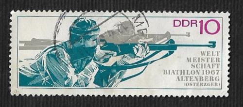 Germany DDR Used Scott #894 Catalog Value $.25