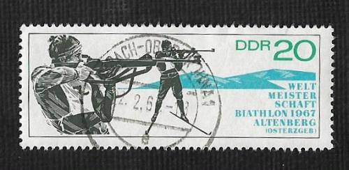 Germany DDR Used Scott #895 Catalog Value $.25