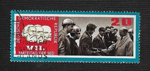 Germany DDR Used Scott #906 Catalog Value $.25