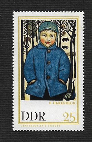 German DDR MNH Scott #910 Catalog Value $.25