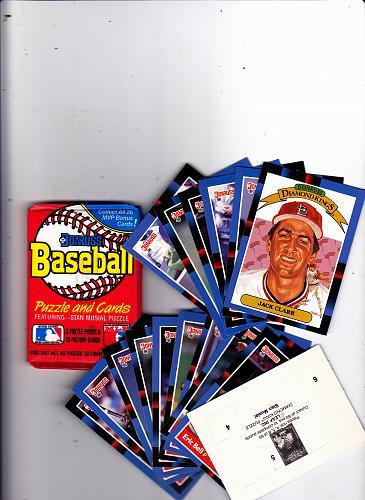 Donruss 1988 Baseball Cards Factory Sealed Pack