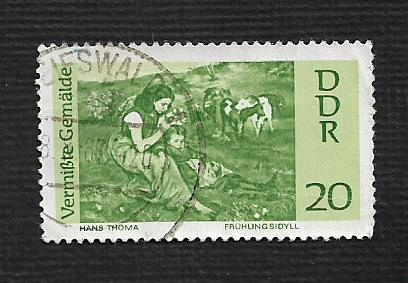 Germany DDR Used Scott #931 Catalog Value $.25