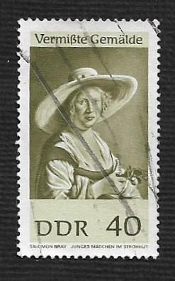 Germany DDR Used Scott #933 Catalog Value $.25
