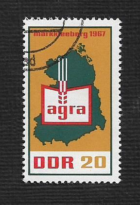 Germany DDR Used Scott #935 Catalog Value $.25