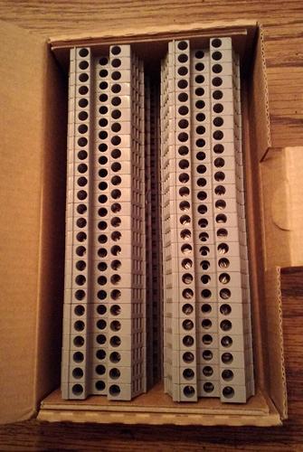 Lot of 50: Woertz 3450GREXP Terminal Blocks :: FREE Shipping