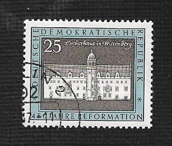 Germany DDR Used Scott #961 Catalog Value $.25