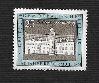 German DDR MNH Scott #961 Catalog Value $.25