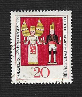 Germany DDR Used Scott #976 Catalog Value $.25