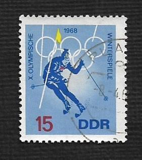 Germany DDR Used Scott #978 Catalog Value $.25