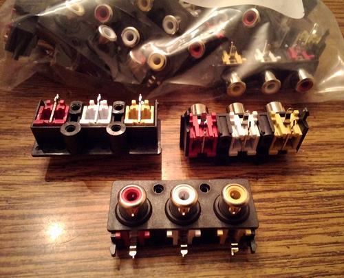 Lots of 25: CUI Inc. RCJ-32234 RCA Connectors :: FREE Shipping