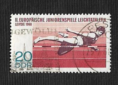 Germany DDR Used Scott #1014 Catalog Value $.25