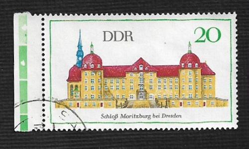 Germany DDR Used Scott #1019 Catalog Value $.25