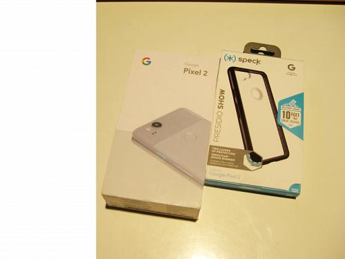 Excellent 9.1/10 Kinda Blue Unlocked 64gb Google Edition Pixel 2 Bundle!!