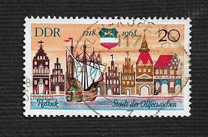 Germany DDR Used Scott #1023 Catalog Value $.25