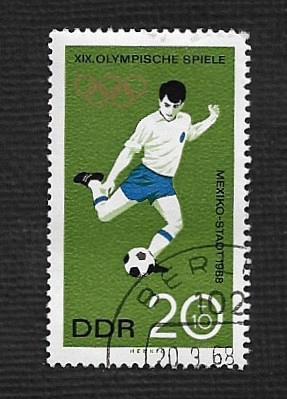 Germany DDR Used Scott #B150 Catalog Value $.25