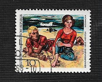Germany DDR Used Scott #1032 Catalog Value $.25