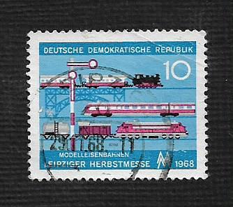 Germany DDR Used Scott #1038 Catalog Value $.25