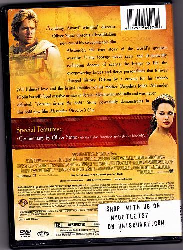 Alexander DVD Directors Cut 2004 - Very Good