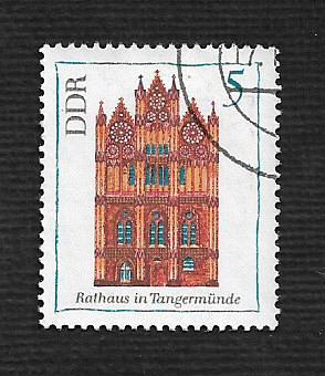 Germany DDR Used Scott #1071 Catalog Value $.25