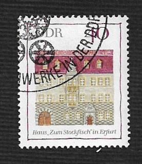 Germany DDR Used Scott #1076 Catalog Value $.25