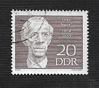 Germany DDR Used Scott #1078 Catalog Value $.25