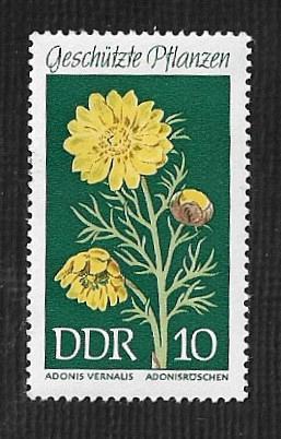 German DDR Hinged Scott #1094 Catalog Value $.25
