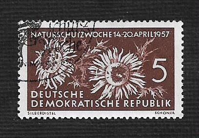 Germany DDR Used Scott #325 Catalog Value $.25