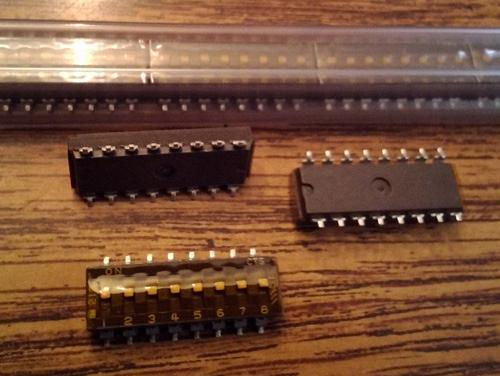 Lots of 25: CTS 219-8MST DIP Switch 8 Raised Slide :: FREE Shipping