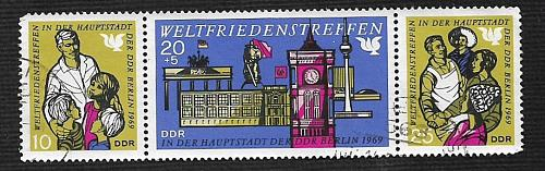 Germany DDR Used Scott #1118a Catalog Value $3.25