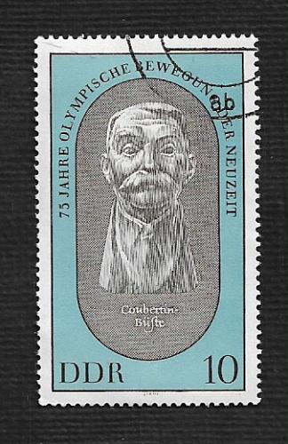 Germany DDR Used Scott #1123 Catalog Value $.25