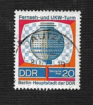 Germany DDR Used Scott #1143 Catalog Value $.25