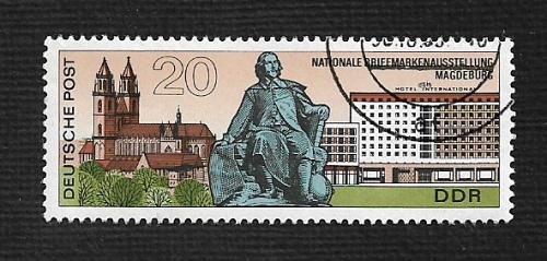Germany DDR Used Scott #1146 Catalog Value $.25