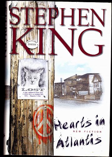 Hearts In Atlantis by Stephen King 1999 Hardcover Book - Very Good