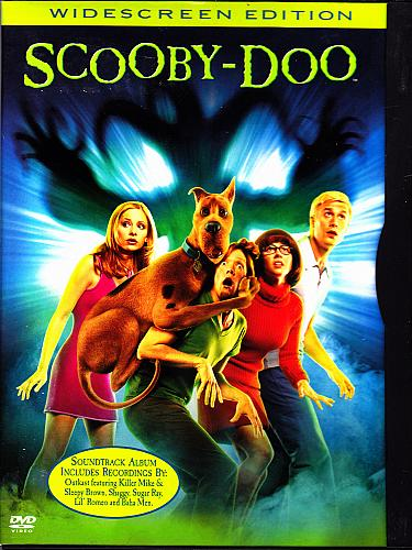 Scooby Doo - The Movie DVD 2002, Widescreen - Very Good