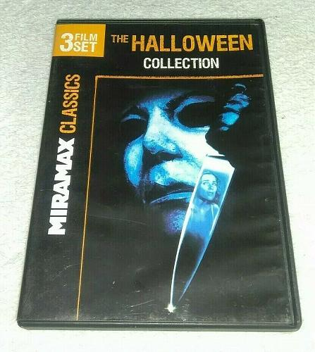 THE HALLOWEEN COLLECTION DVD