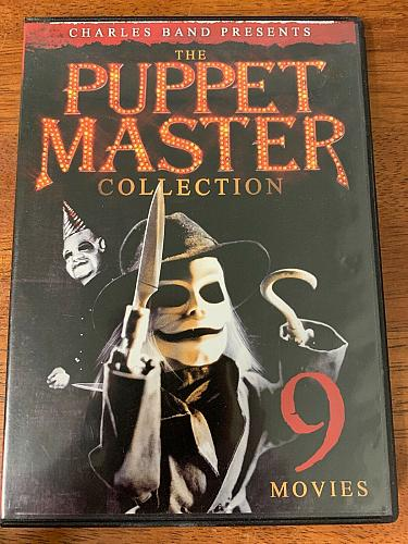 THE PUPPET MASTER COLLECTION DVD
