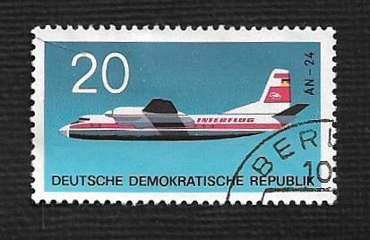 Germany DDR Used Scott #1156 Catalog Value $.25