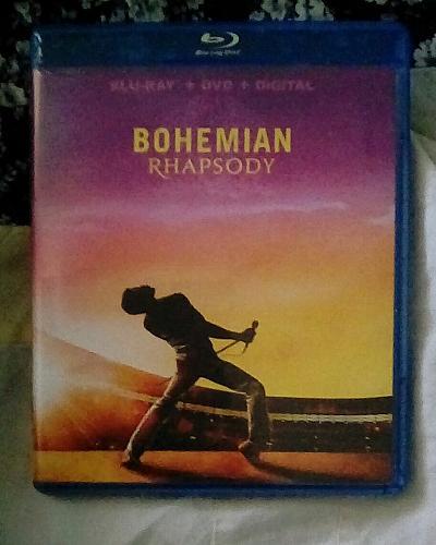 Bohemian Rhapsody Blu-Ray & DVD Combo