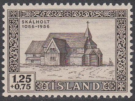 [ICB015] Iceland: Sc. No. B15 (1956) MNH