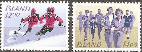[IC0578] Iceland: Sc. No. 578-579 (1983) MNH Full Set