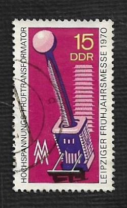 Germany DDR Used Scott #1183 Catalog Value $.25