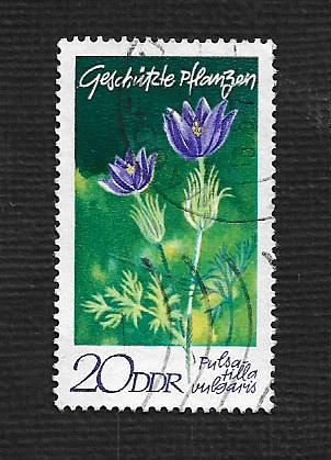 Germany DDR Used Scott #1195 Catalog Value $.25